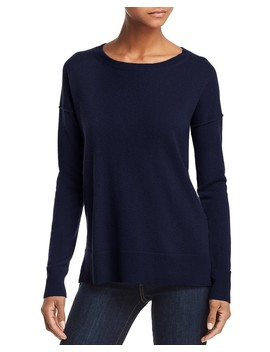High/Low Cashmere Sweater   100 Percents Exclusive  by Aqua