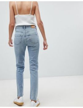 Weekday Way High Waist Skinny Jeans In Blue by Weekday