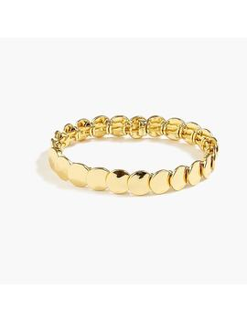 Stacked Circle Stretch Bracelet by J.Crew