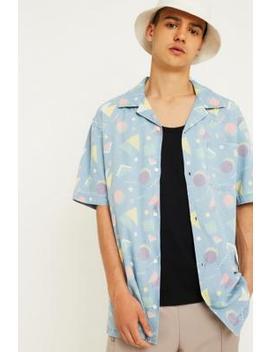 Wrangler Light Indigo Resort Shirt by Wrangler