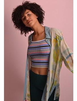 Lightweight Pattern Shirt Gss452 by Port Girls