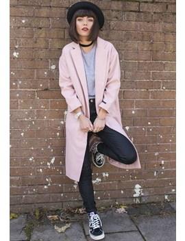 Longline Duster Coat by Poppy Lovers Fashion