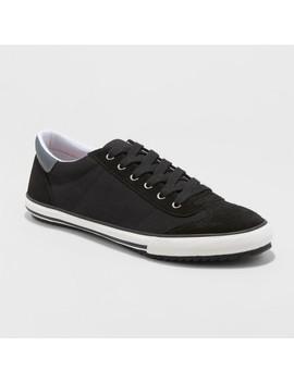 Men's Rhen Retro Sneakers   Goodfellow & Co™ Black by Goodfellow & Co™