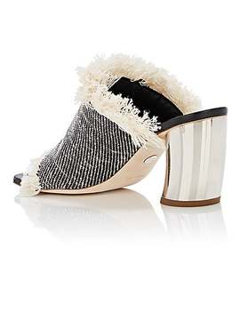 Curved Heel Woven Mules by Proenza Schouler