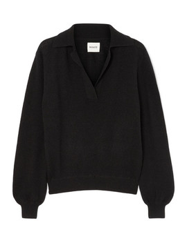 Jo Cashmere Blend Sweater by Khaite