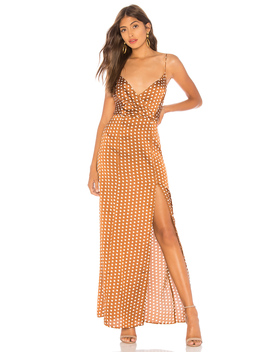 Lorie Slit Maxi Dress by About Us