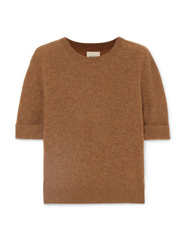 Lydia Cashmere Blend Sweater by Khaite