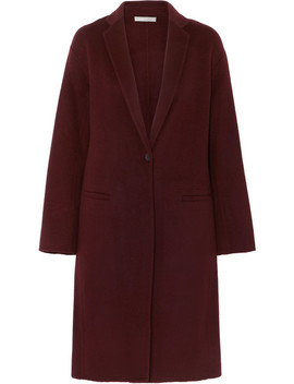 Brushed Wool Blend Coat by Vince