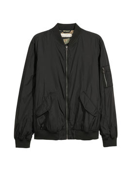 Cazadora Bomber De Nailon by H&M