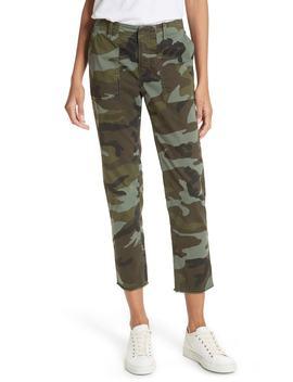 Jenna Camo Print Crop Pants by Nili Lotan