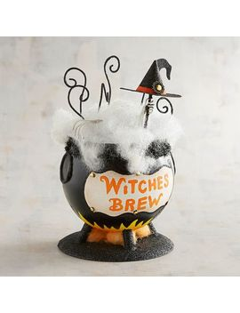 Glittered Witches Brew Cauldron by Pier1 Imports