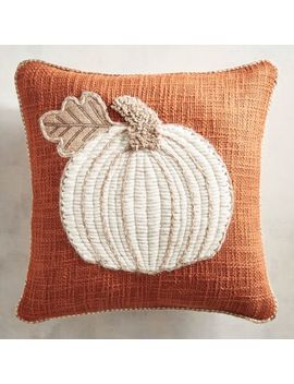 Chunky Jute Pumpkin Mini Pillow by Pier1 Imports
