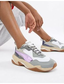 Puma Thunder Electric Lavender Trainers by Puma