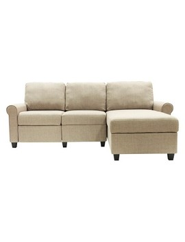 Copenhagen Reclining Sectional With Right Storage Chaise   Serta by Serta