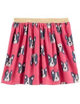 French Bulldog Sateen Skirt by Carter's