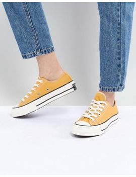Converse Chuck '70 Ox Trainers In Mustard Yellow by Converse