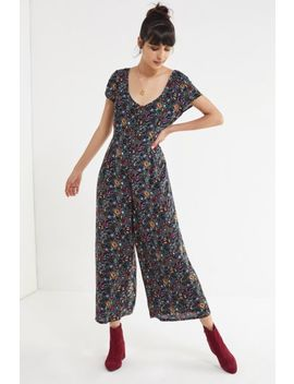 Uo Lorelai Button Down Jumpsuit by Urban Outfitters