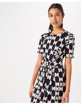 Knot Waist Jersey Dress by Jigsaw