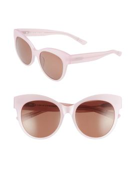Blanc & Eclare Paris 55mm Polarized Cat Eye Sunglasses by Blanc And Eclare