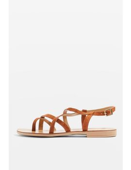Hot Stuff Strappy Sandals by Topshop