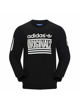 Adidas Originals Graphic Crew Sweat Size S Black Rrp £50 Bnwt Az3985 by Ebay Seller