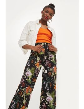 Moto Tropical Diamante Cropped Jeans by Topshop
