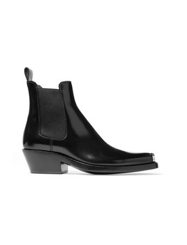 Claire Leather Ankle Boots by Calvin Klein 205 W39 Nyc