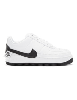 White & Black Air Force 1 Jester Xx Sneakers by Nike