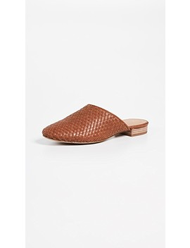 The Cassidy Woven Mules by Madewell
