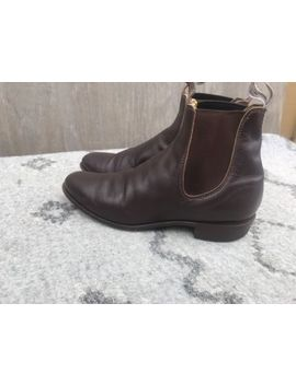 """Rm Williams """"Signature Craftsman"""" French Calf Leather Chelsea Boots   Size 7 by R.M. Williams"""