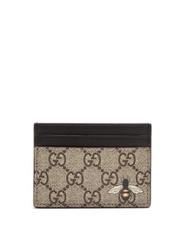 Bee Motif Cardholder by Gucci
