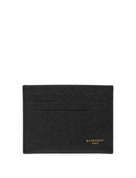 Logo Printed Leather Cardholder by Givenchy