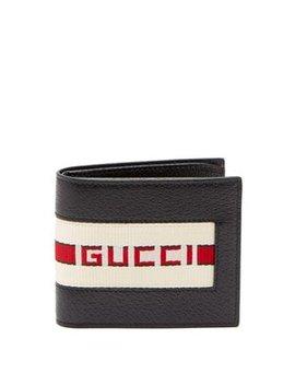 Bi Fold Wallet With Retro Logo by Gucci
