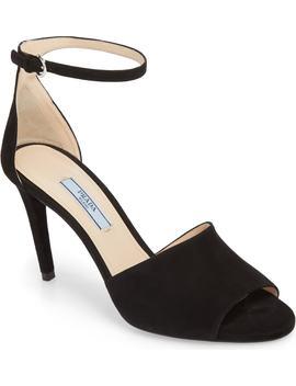 Halo Strap Sandal by Prada