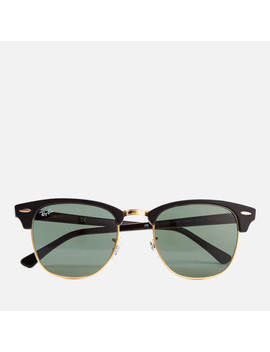 Ray Ban Clubmaster Sunglasses 49mm   Ebony/Arista by The Hut