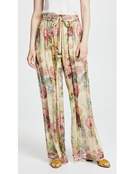 Melody Wide Leg Pants by Zimmermann