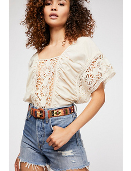 Vintage Vibes Textile Belt by Free People
