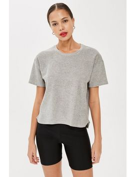 **Terry T Shirt By Calvin Klein by Topshop