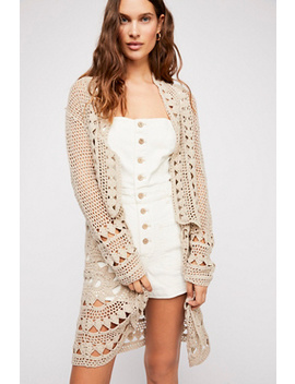 Harmony Crochet Cardi by Free People