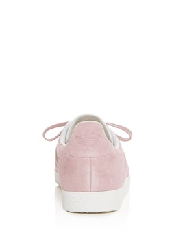 Women's Gazelle Stitch And Turn Suede Lace Up Sneakers by Adidas