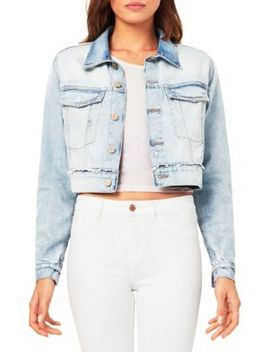 Shawn Cropped Boyfriend Denim Jacket by Dl1961 Premium Denim
