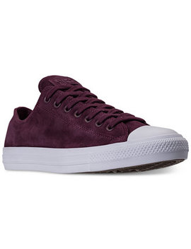 Men's Chuck Taylor All Star Suede Ox Casual Sneakers From Finish Line by Converse