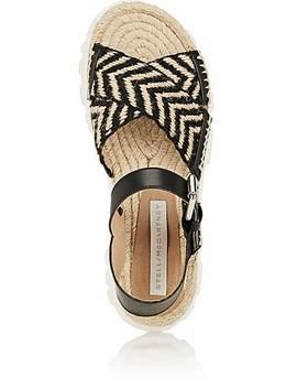Woven Espadrille Sandals by Stella Mc Cartney