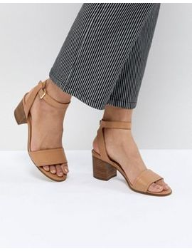 Aldo Tan Block Heeled Sandals by Aldo