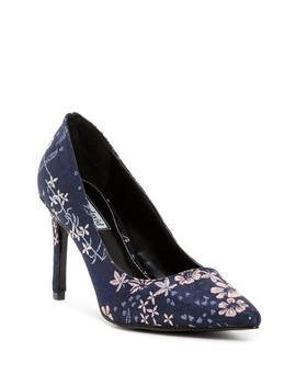 Denise Floral Embroidered Pump by Charles David