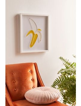 3 D Banana Wall Art by Urban Outfitters