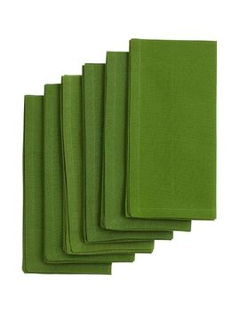 Green Buffet Napkin Set Of 6 by Pier1 Imports