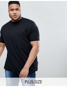 Duke King Size T Shirt In Ribbed Sleeve Panel by Duke