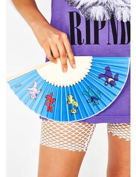 Dancing Nerm Hand Fan by Ripndip