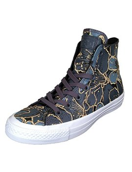 Converse X Pat Bo Women's Chuck Taylor All Star Sneakers Gold Flowers by Converse